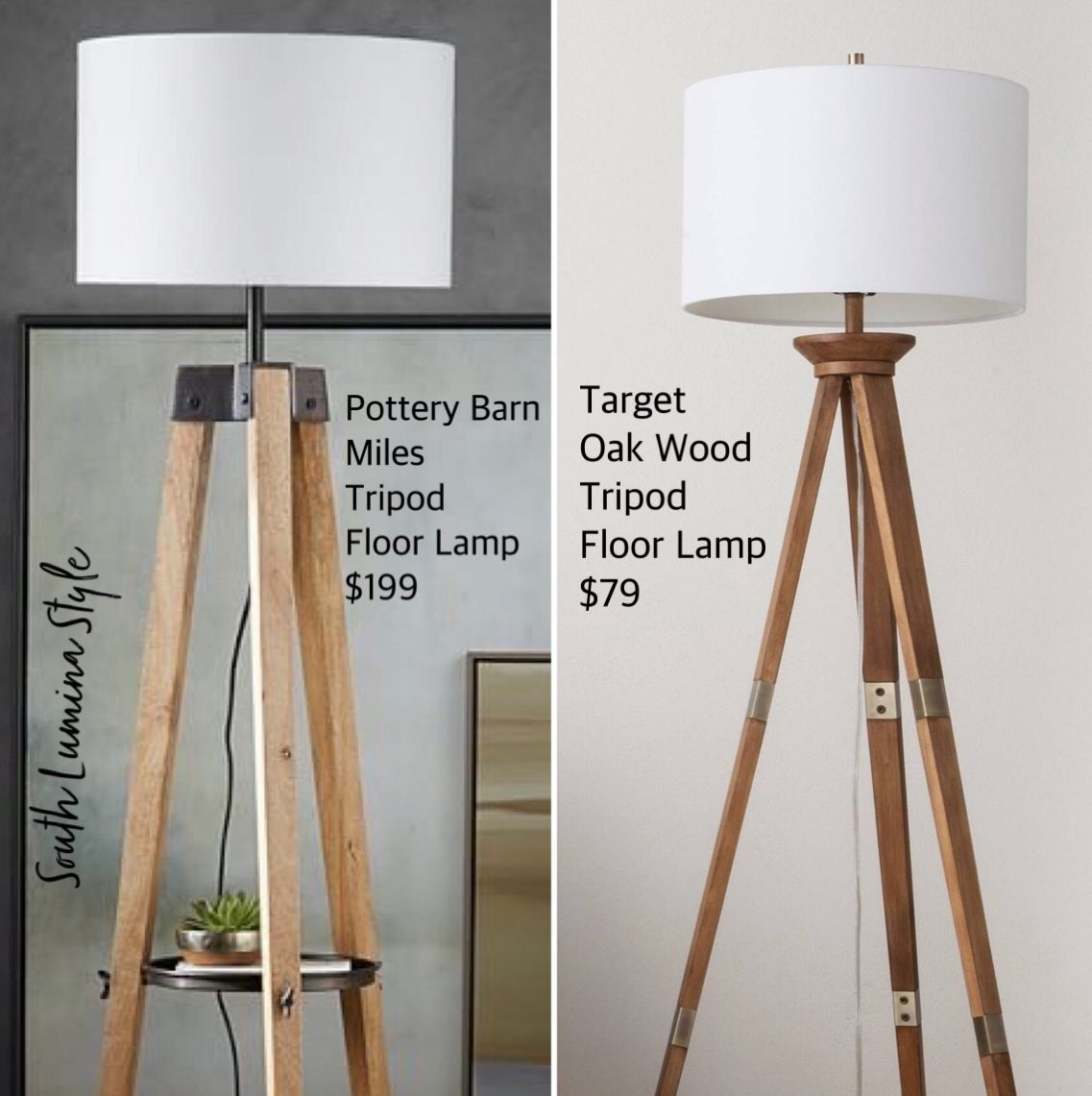 Tripod Floor Lamps South Lumina Style