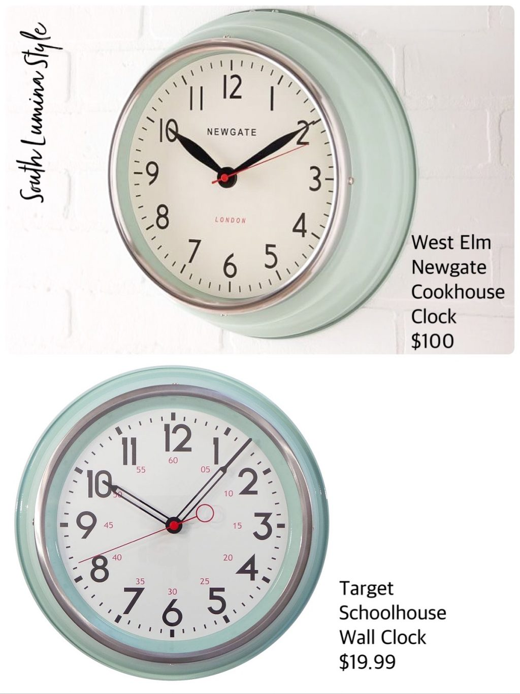 Schoolhouse Wall Clocks