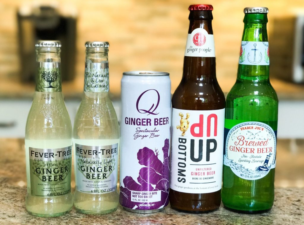 What is the best ginger beer to use for Moscow Mules