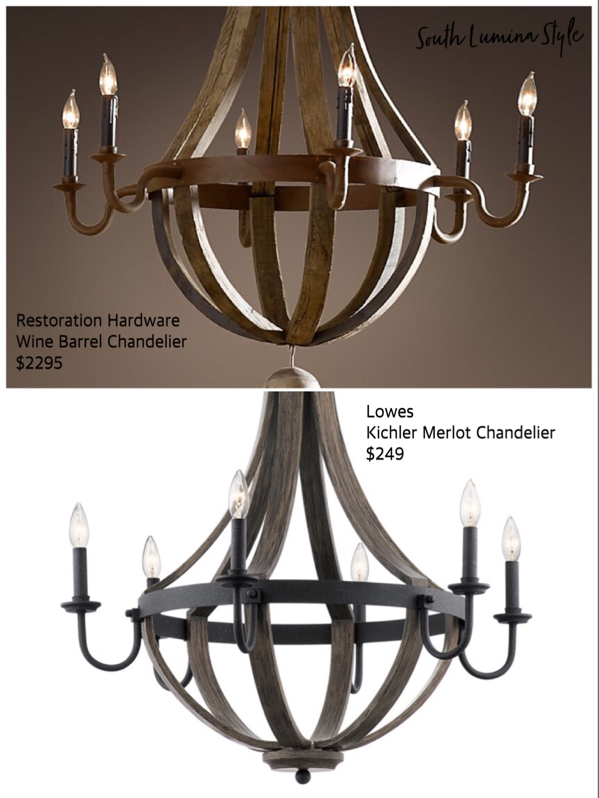 Wine Barrel Chandelier A Beer Bud South Lumina Style