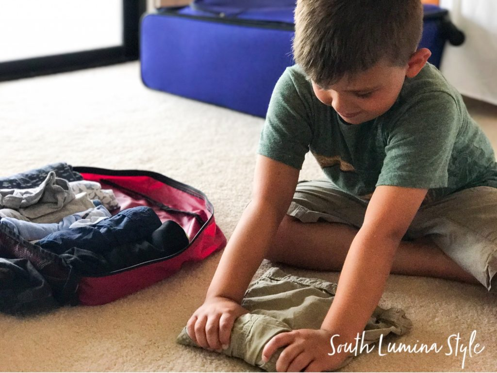 Packing Cubes - Family Travel Essential