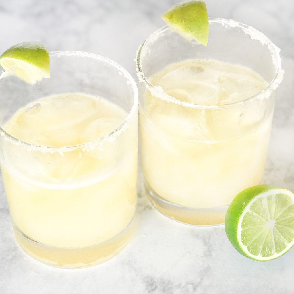 Summer Skinny-ish Margaritas