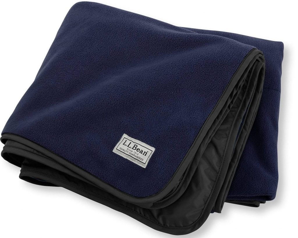 Water-Resistant Fleece Stadium Blanket