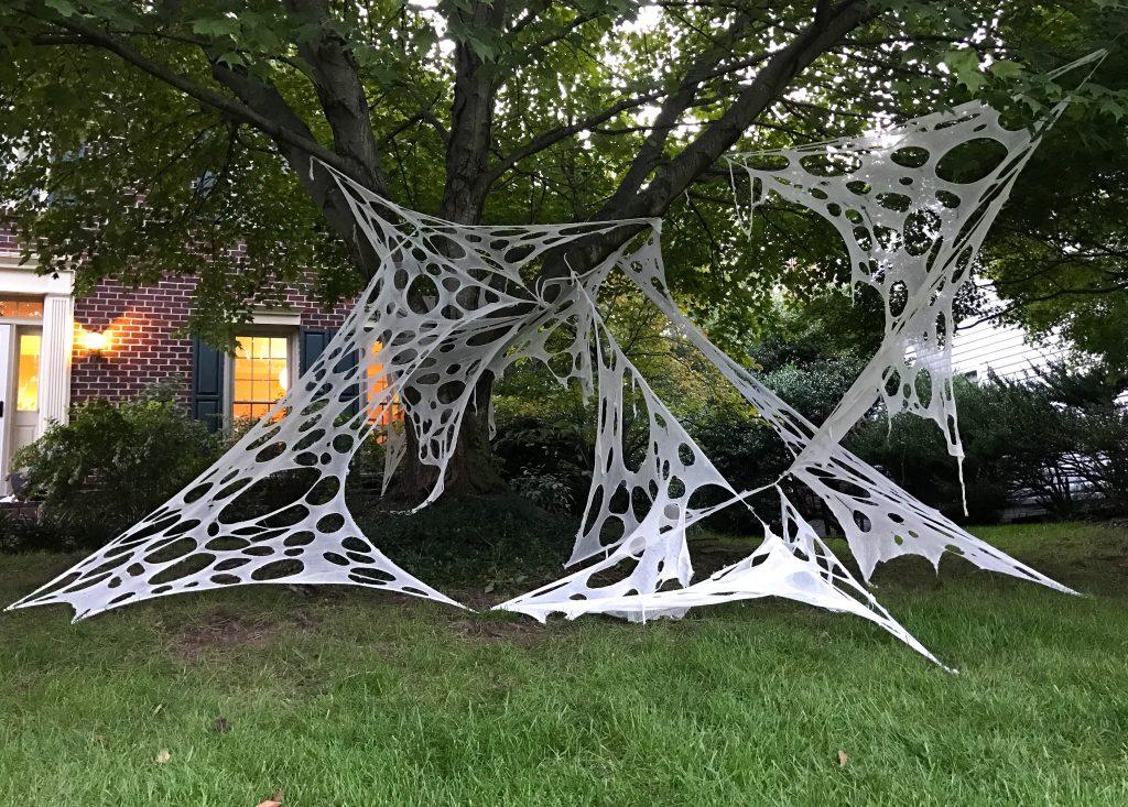Giant Halloween Spider Webs