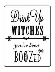 thumbnail of Drink Up Witches Full Page