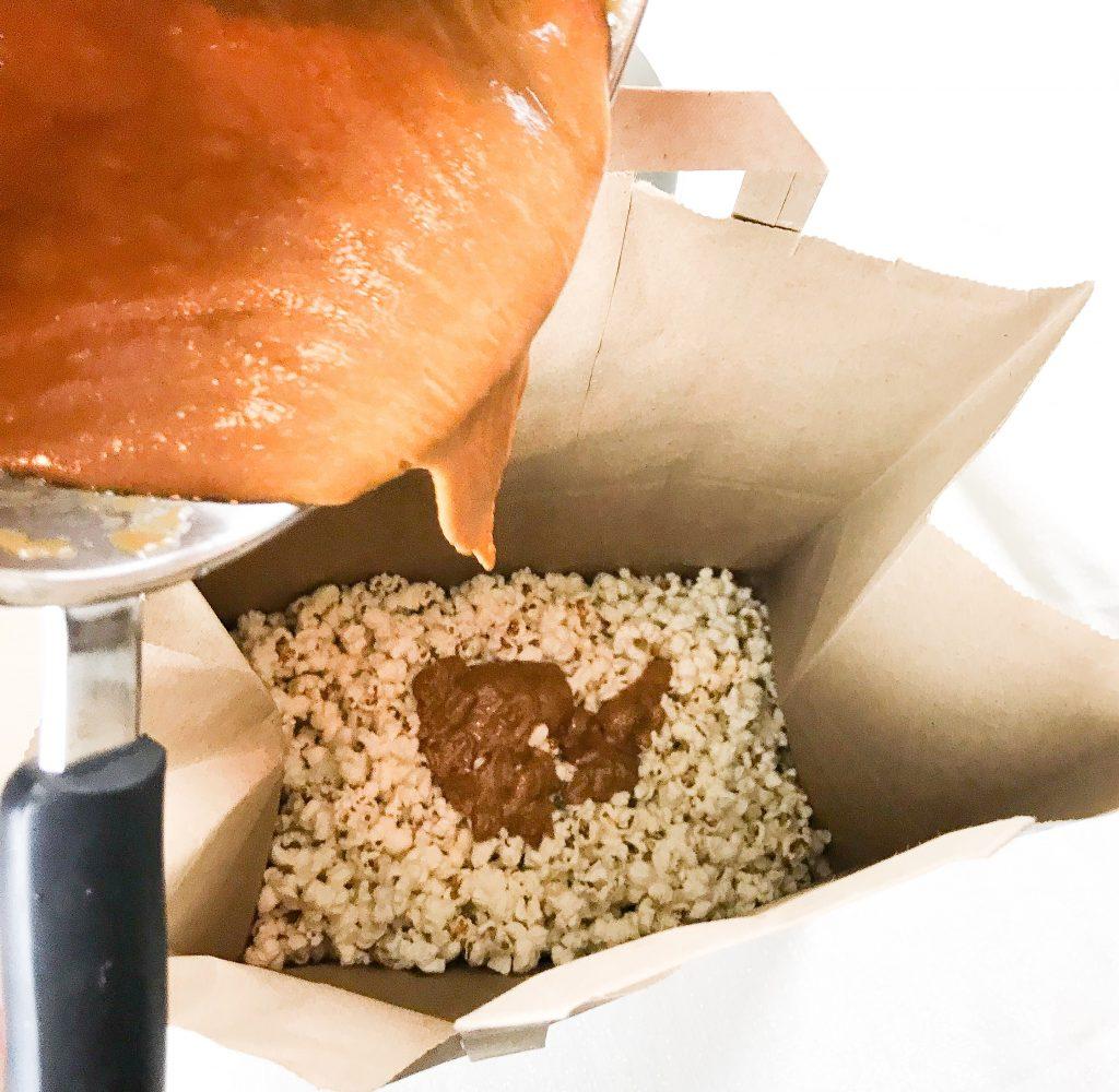 caramel popcorn, caramel popcorn recipe