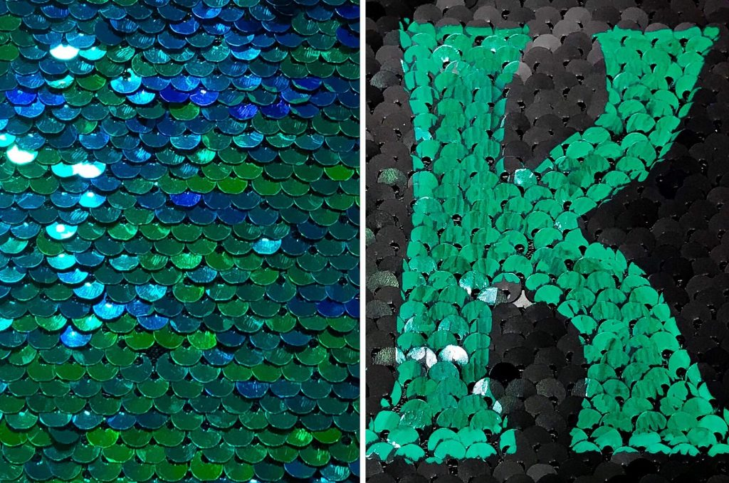 How To Personalize Mermaid Sequin Fabric