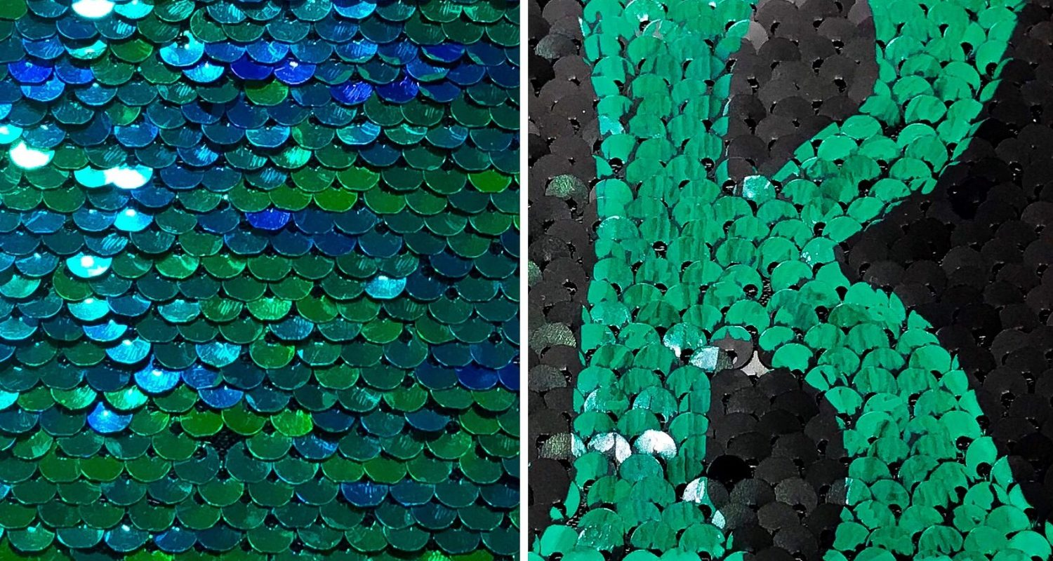 a3fce32adb02c3 How To Personalize Mermaid Sequin Fabric - South Lumina Style