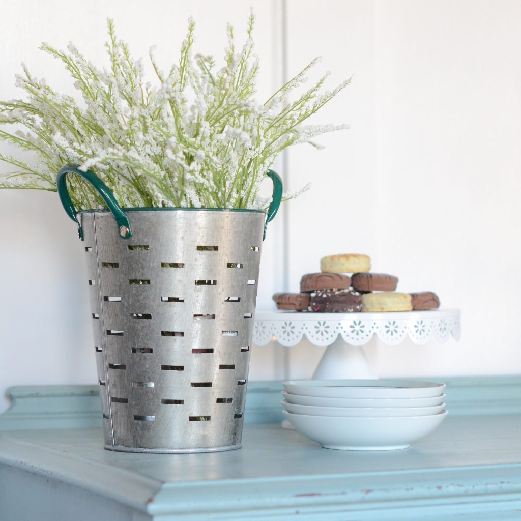 Bring The Outdoors In Year Round With Faux Flowers and Greenery