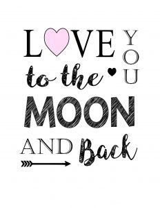 thumbnail of love you to the moon and back 8×10