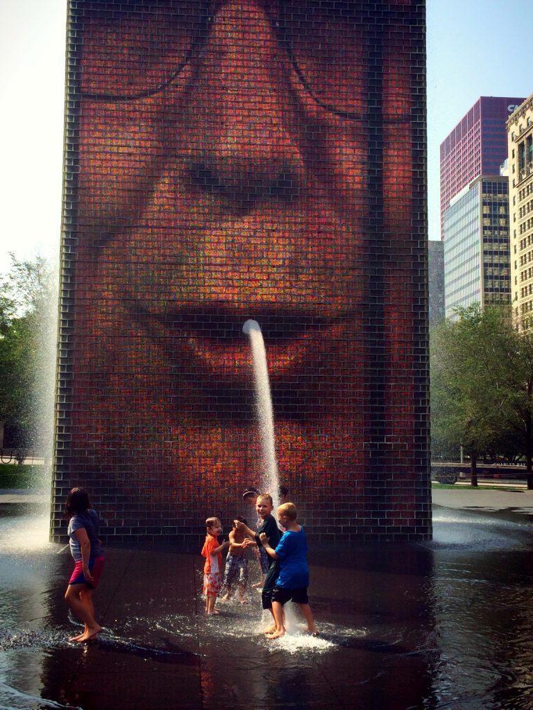 Chicago Trip Crown Fountain