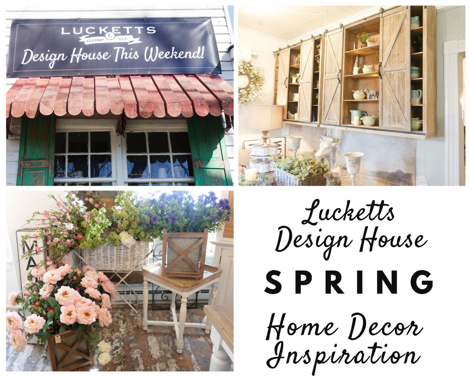 Spring Design Inspiration At Lucketts Spring Design House