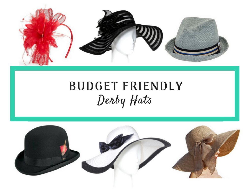 Our Favorite Budget Friendly Derby Day Hats