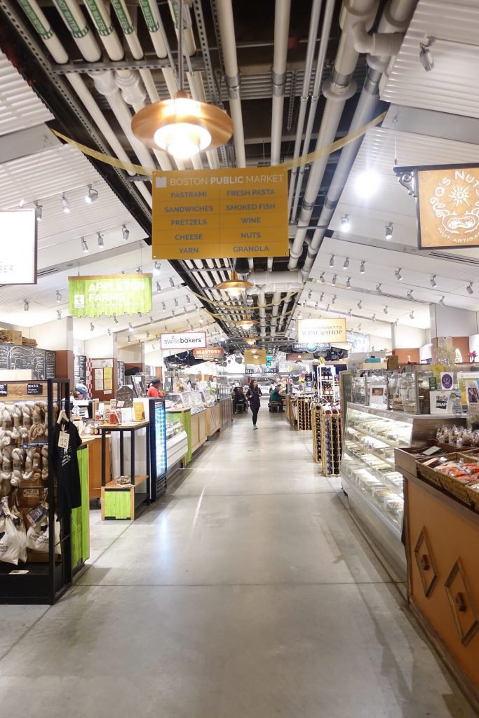 Exploring Boston with Kids - Market