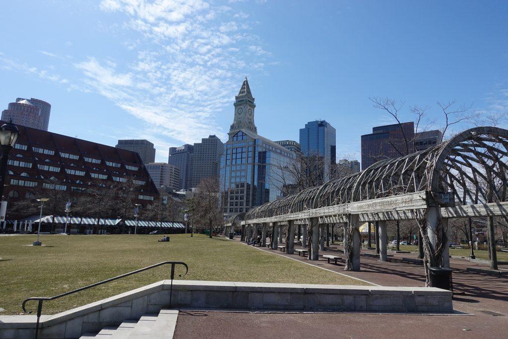 downtown Boston Family trip