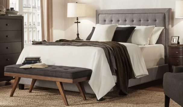 King Size Upholstered Beds Master Bedroom Makeover