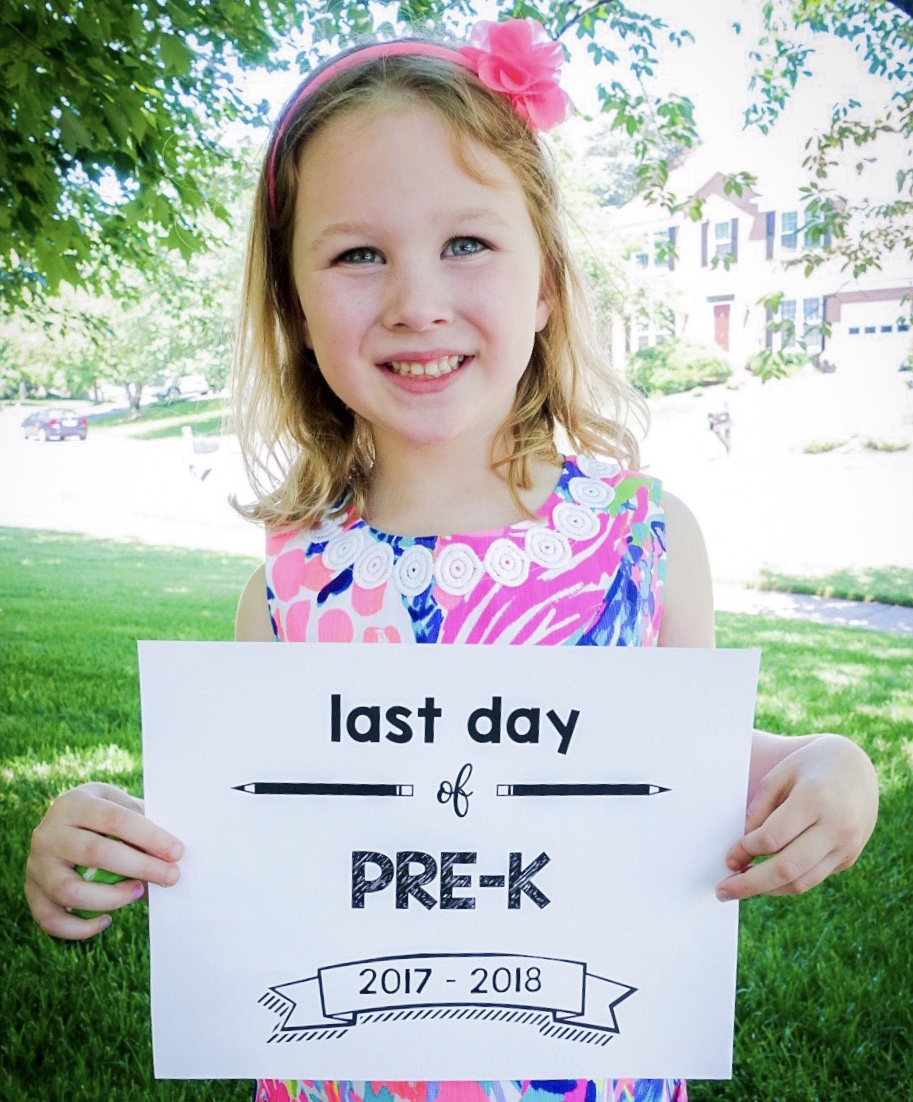 Last Day of School Printable Signs