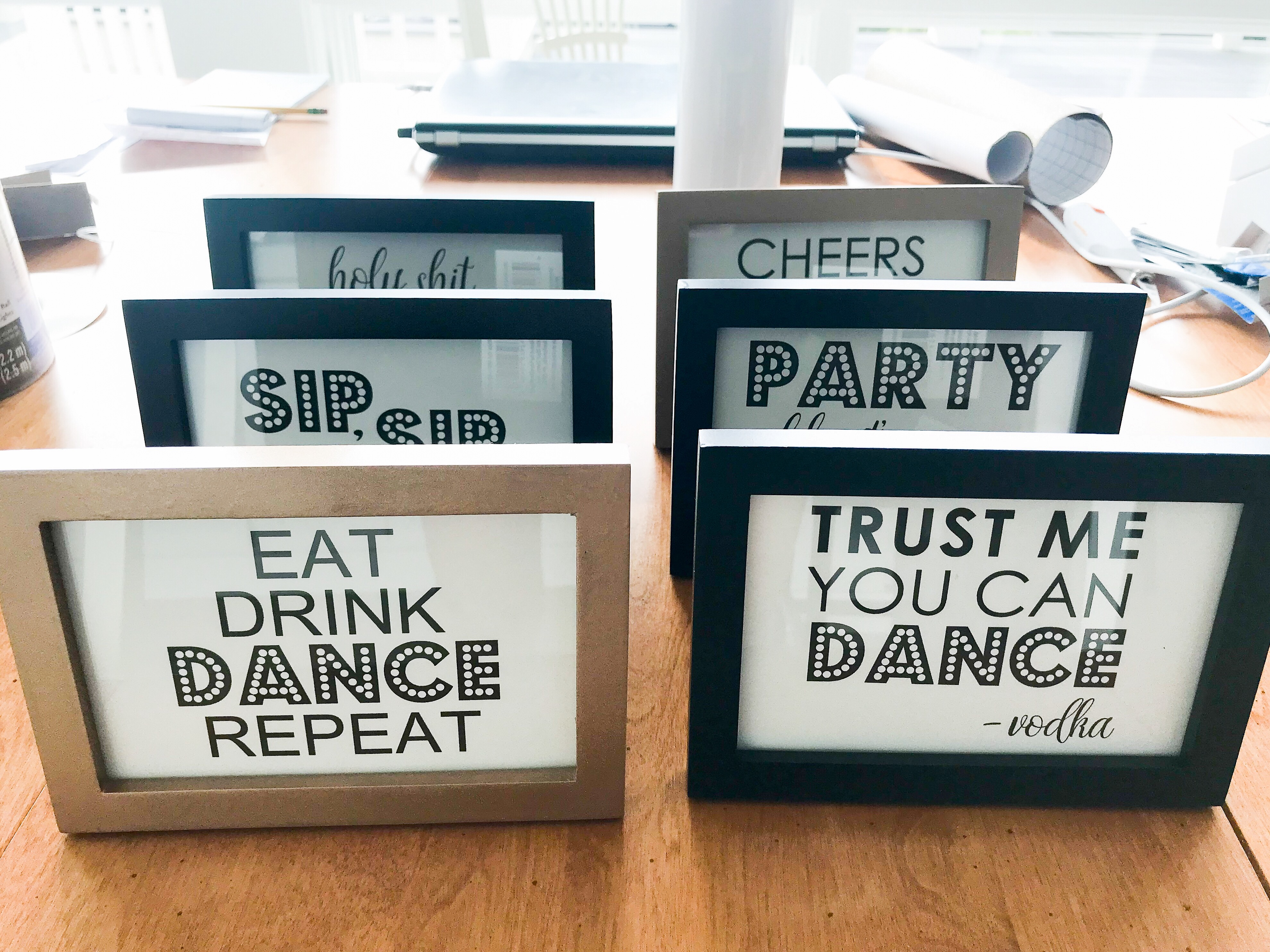 photo relating to 40th Birthday Signs Printable called Do it yourself Printable Grownup Birthday Occasion Symptoms - South Lumina Layout