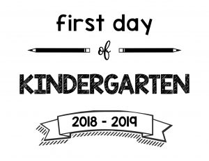 thumbnail of First Day of Kindergarten 2018 – 2019