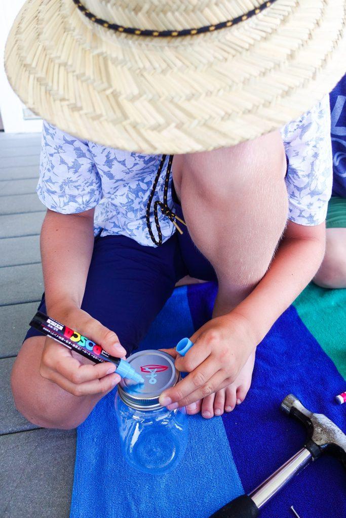 South Lumina Style Kid Crafts Firefly Jar