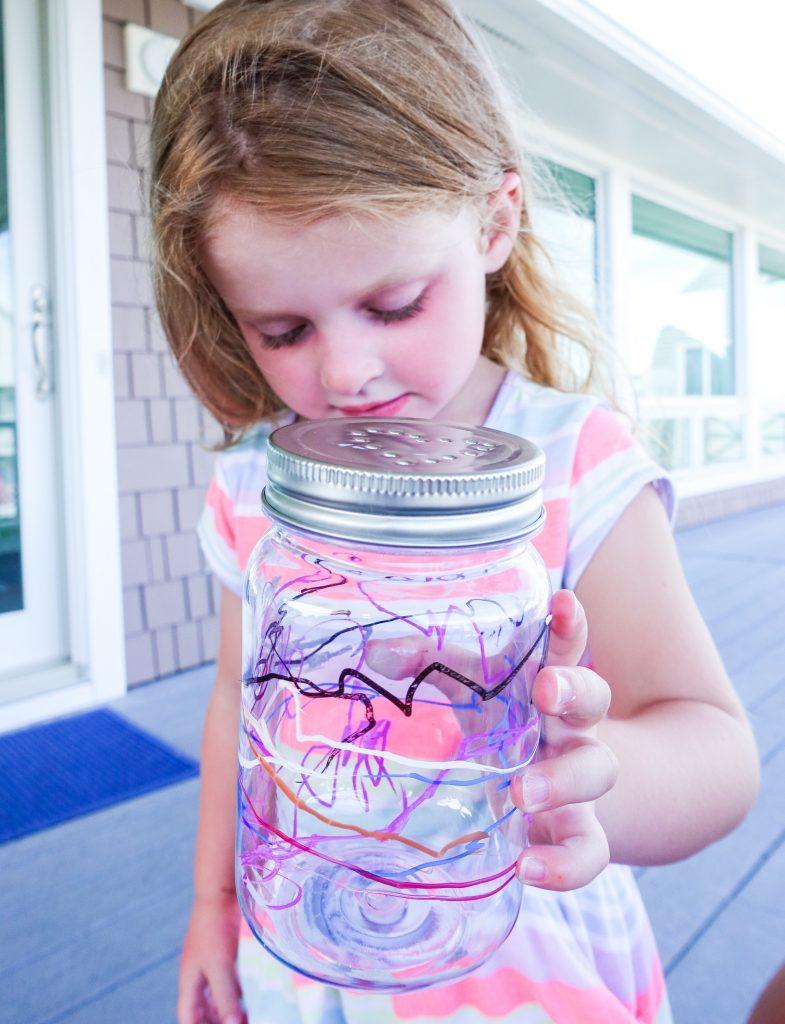 South Lumina Style Kids Crafts DIY Firefly Jars