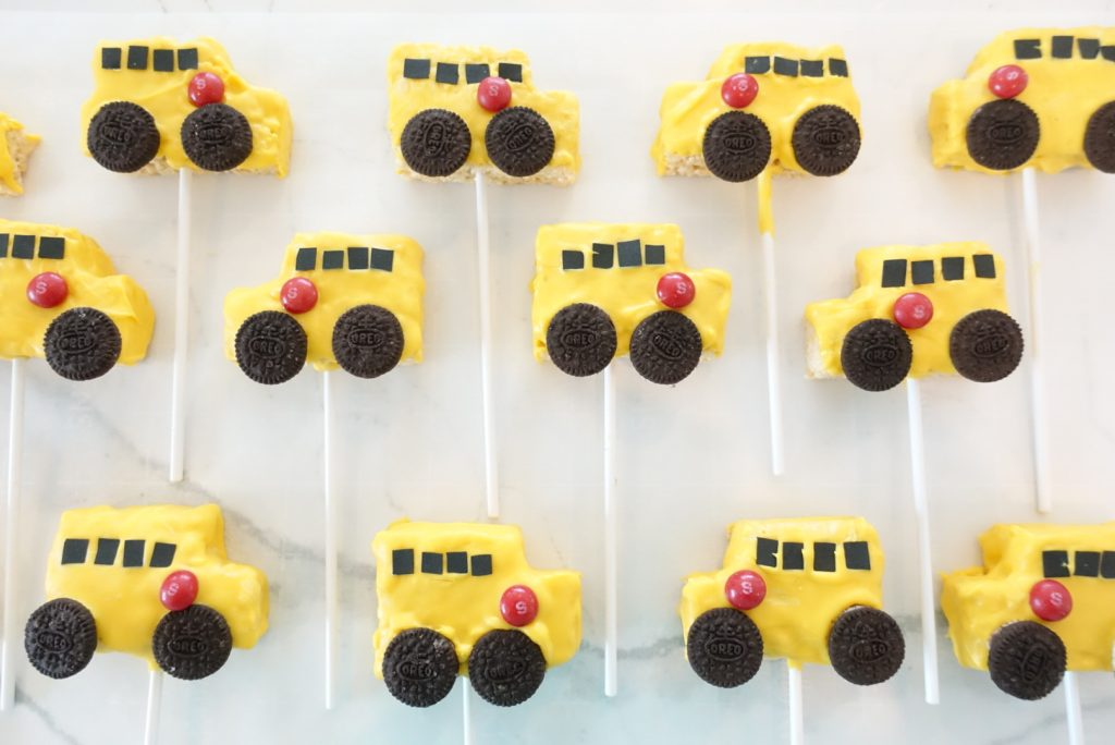 Rice Krispies Treats School Buses