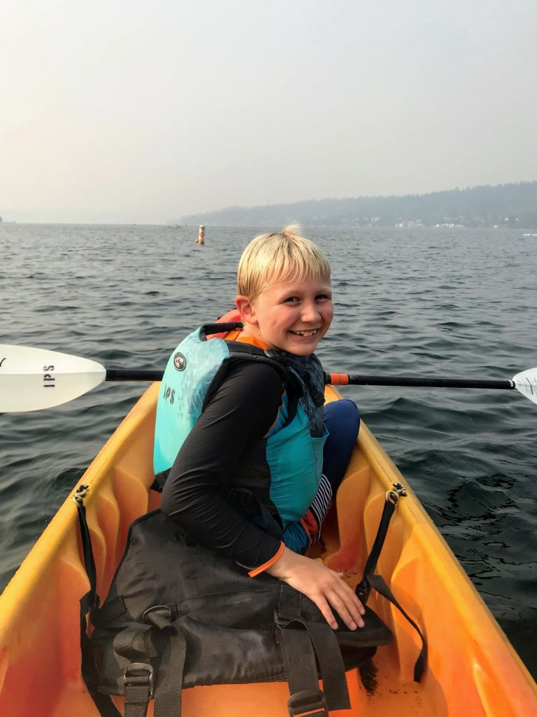 Seattle with Kids - Lake Sammamish