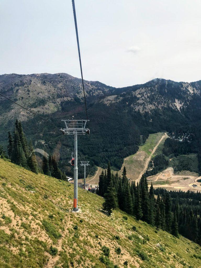 Family trip to Seattle - Crystal Mountain Resort Gondola