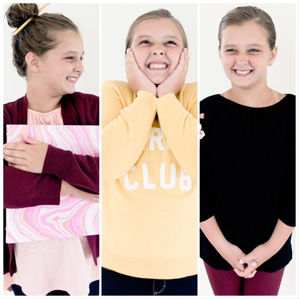 Back to School Tween Girl Capsule Wardrobe