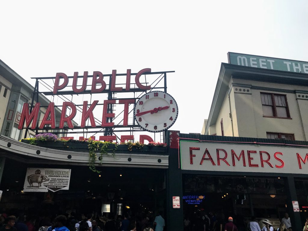 Seattle with Kids - Public Market in Downtown Seattle