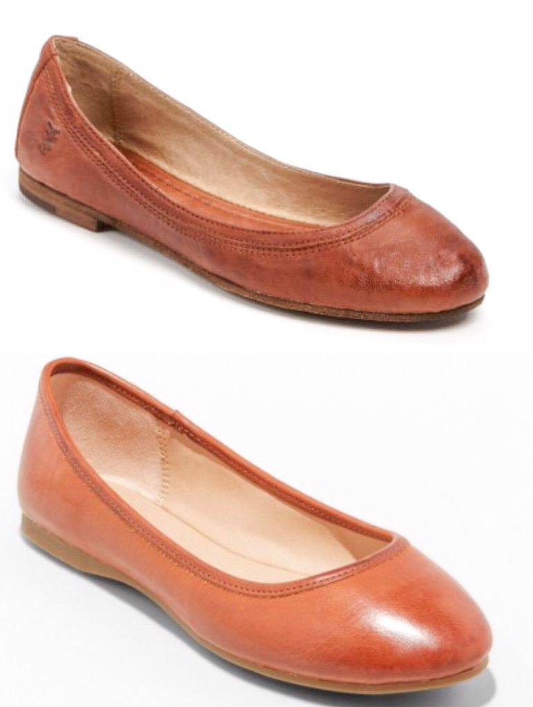 Designer Fall Shoe looks for less - Frye ballet