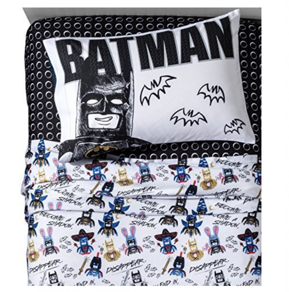 Lego Batman Movie Bedding on Amazon