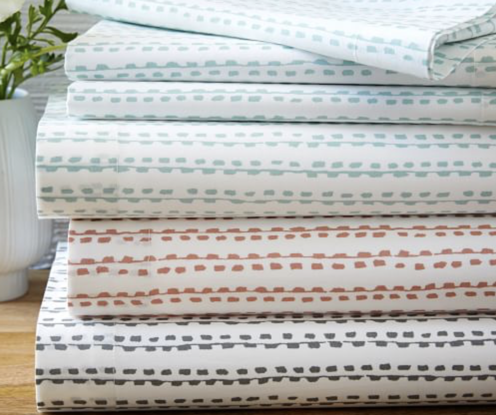 Our Favorite Boy Bedding - West Elm Organic Hand Drawn Sheets