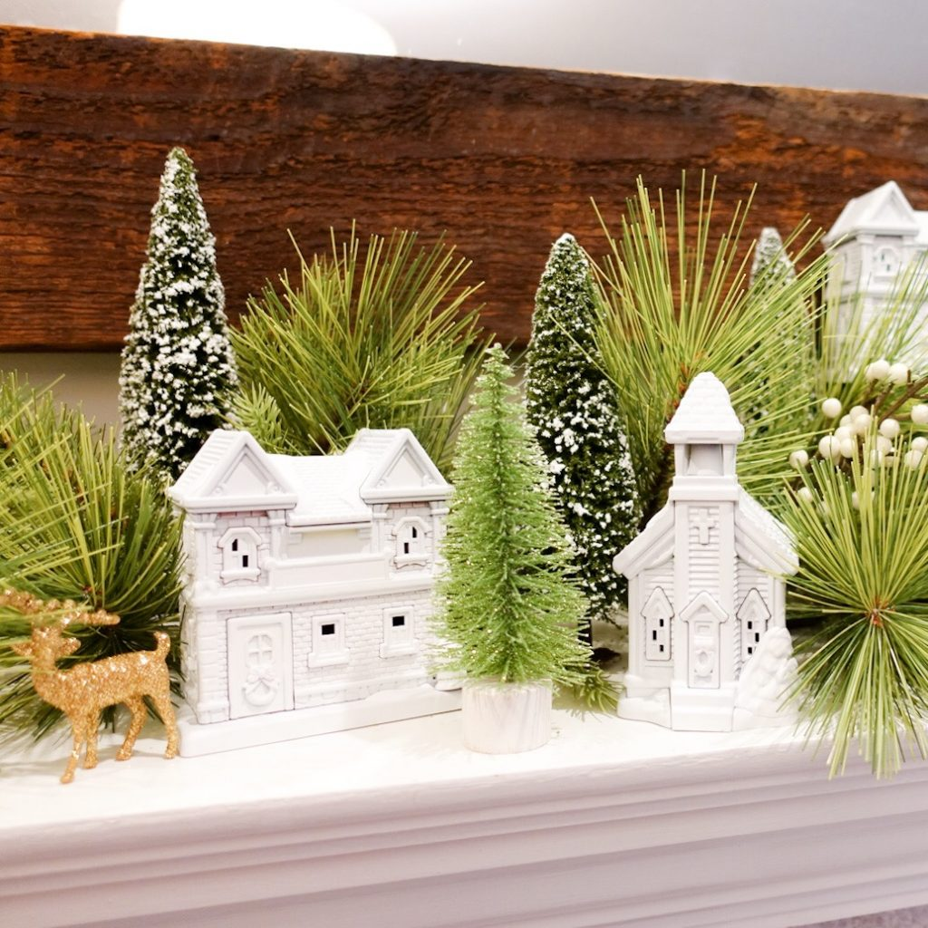 DIY Dollar Store Christmas Village