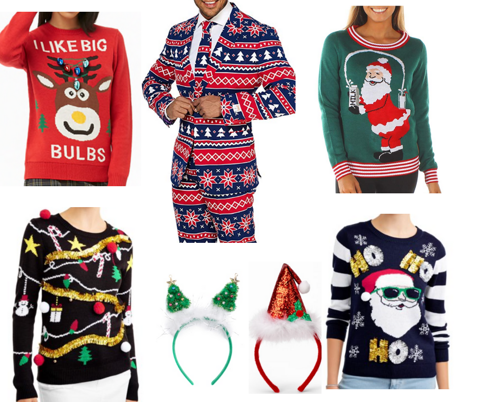 What to Wear to an Ugly Sweater Christmas Party