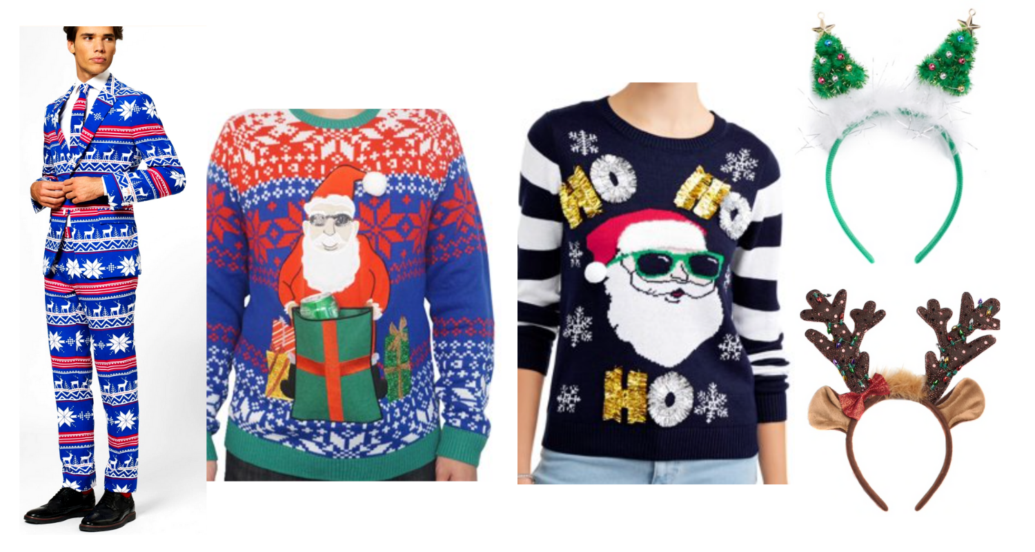 332c1d18 What to Wear to an Ugly Sweater Christmas Party - South Lumina Style