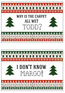 thumbnail of Why Is The Carpet All Wet Todd I Don't Know Margo 4 x 6