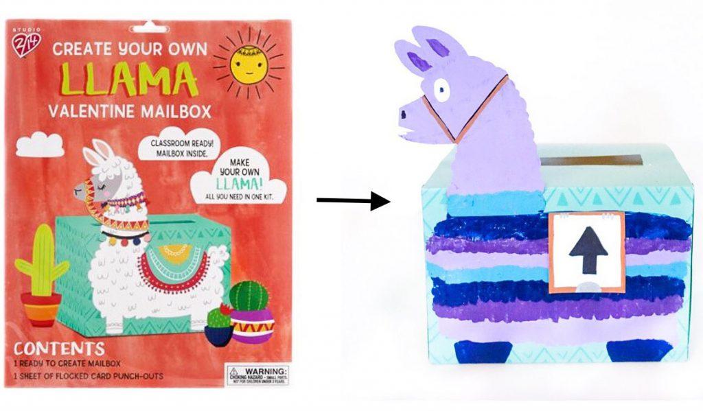 DIY Easy Fortnite Llama Valentine Mailbox