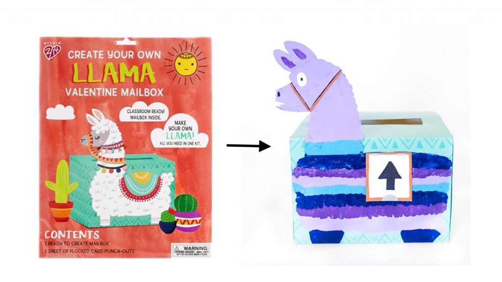 Diy Easy Fortnite Llama Valentine Mailbox South Lumina Style