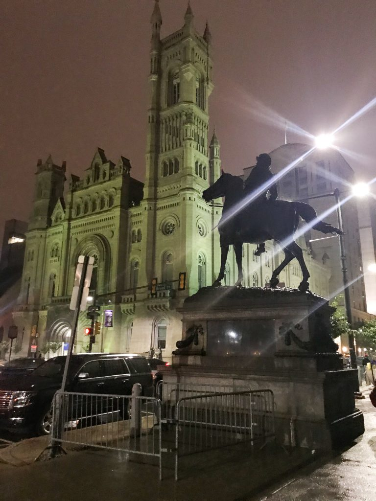 What to see in Philadelphia PA Downtown at Night