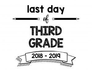 thumbnail of Last Day of Third Grade 2018 – 2019